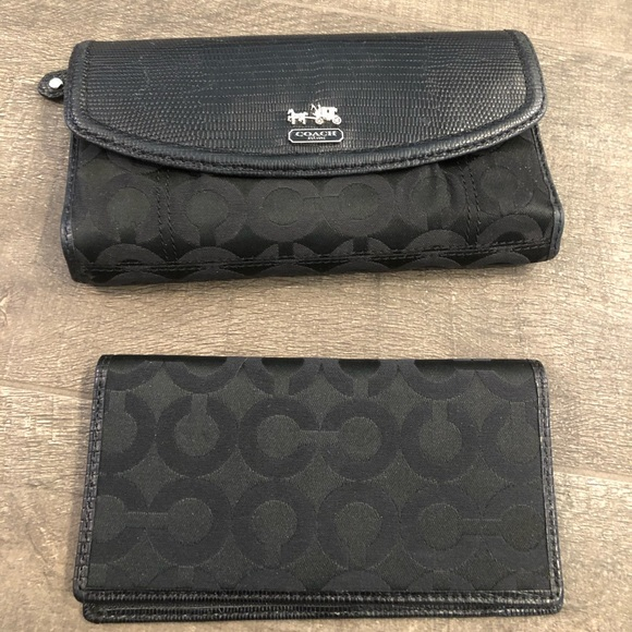 Coach Handbags - SOLD ! Authentic Coach wallet and checkbook